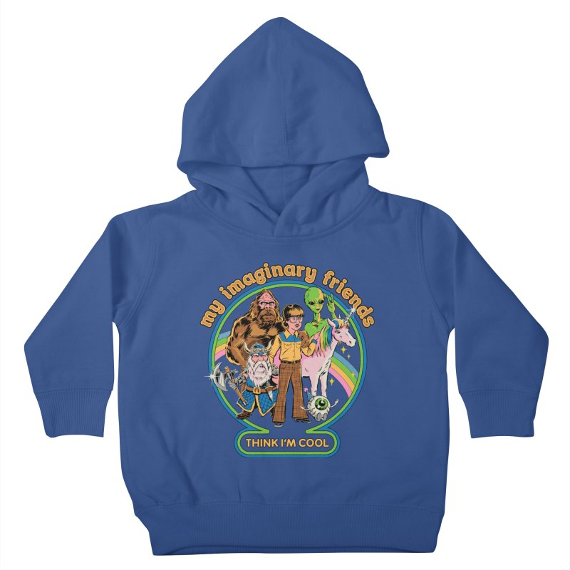 My Imaginary Friends Kids Toddler Pullover Hoody by Steven Rhodes