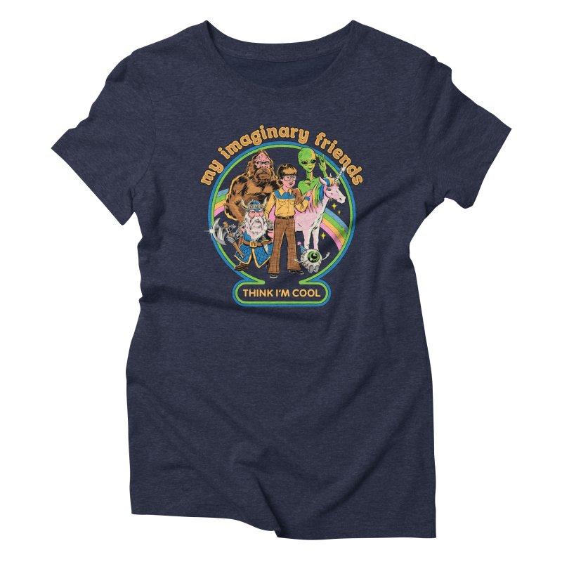 My Imaginary Friends Women's Triblend T-Shirt by Steven Rhodes