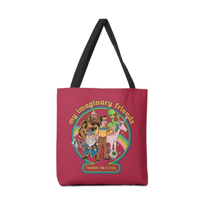 My Imaginary Friends Accessories Bag by Steven Rhodes
