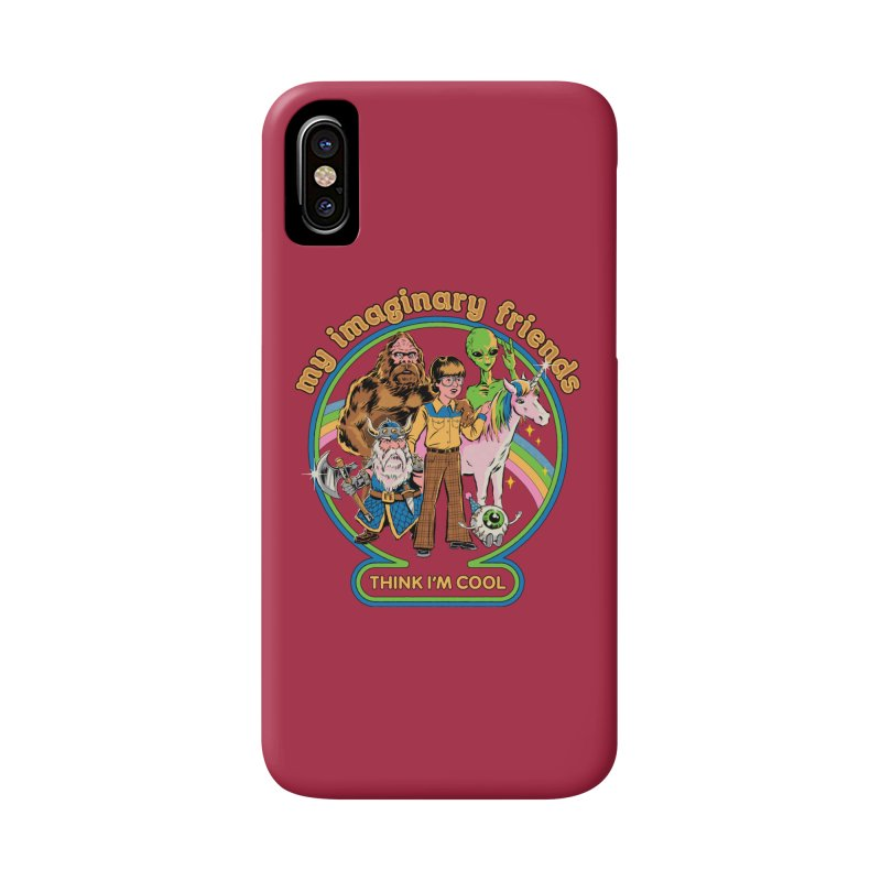 My Imaginary Friends Accessories Phone Case by Steven Rhodes