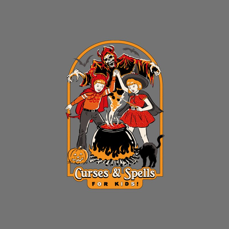 Curses & Spells Accessories Water Bottle by Steven Rhodes
