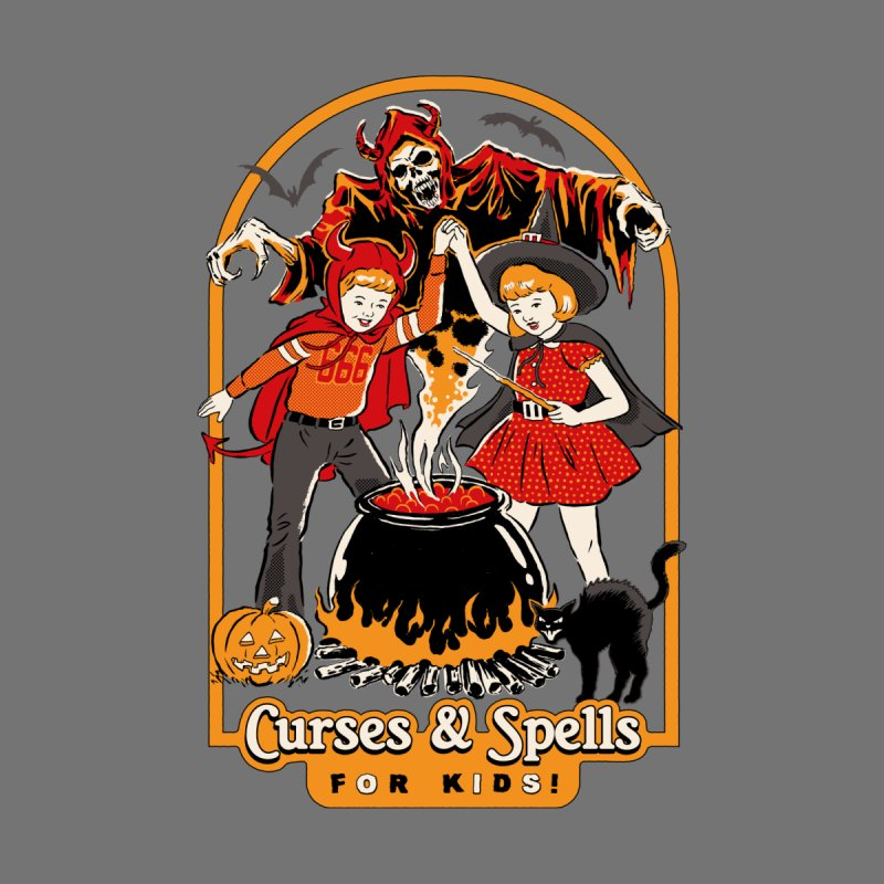 Curses & Spells Men's T-Shirt by Steven Rhodes