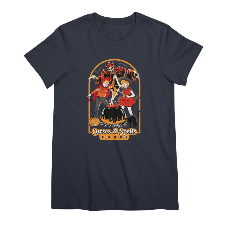 Curses & Spells Women's Premium T-Shirt by Steven Rhodes