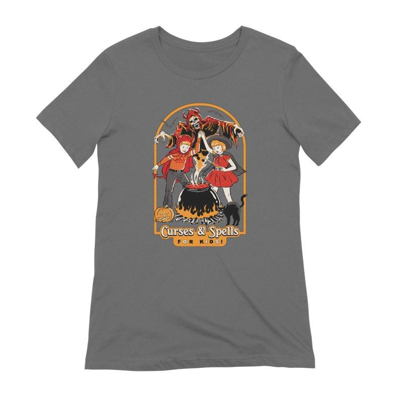 Curses & Spells Women's Extra Soft T-Shirt by Steven Rhodes