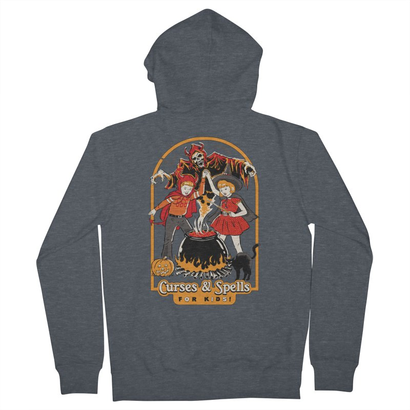 Curses & Spells Women's French Terry Zip-Up Hoody by Steven Rhodes