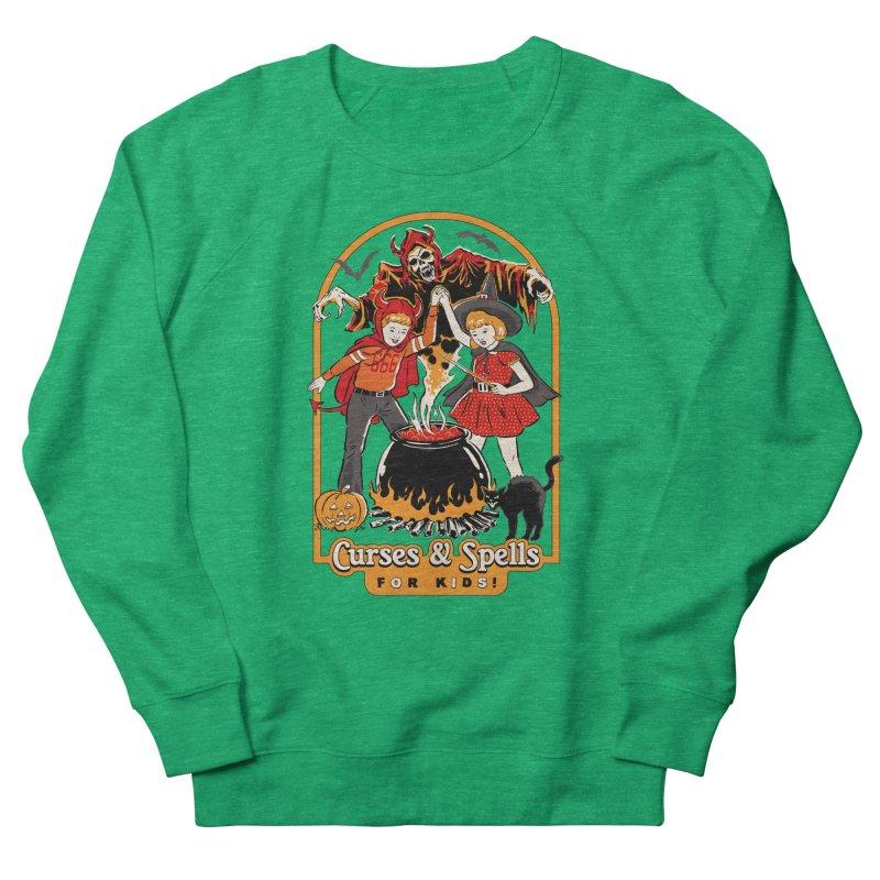 Curses & Spells Women's French Terry Sweatshirt by Steven Rhodes