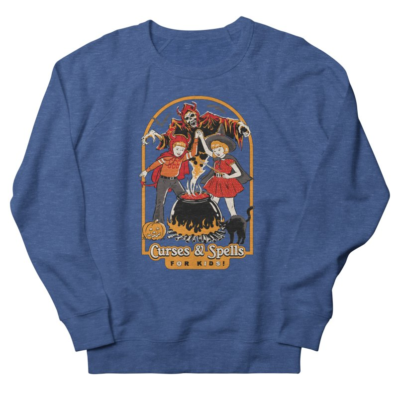 Curses & Spells Men's French Terry Sweatshirt by Steven Rhodes