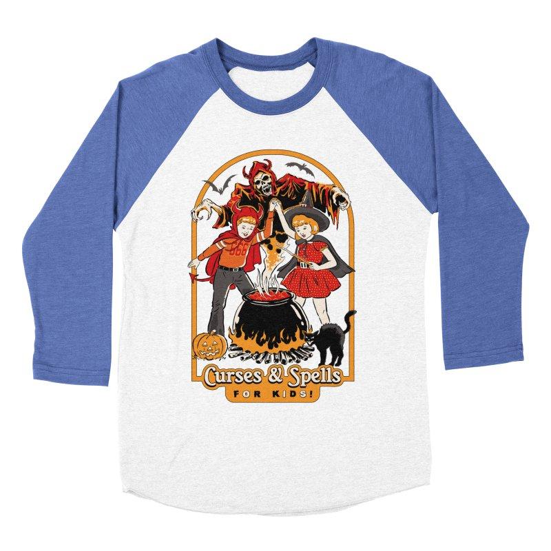 Curses & Spells Women's Baseball Triblend Longsleeve T-Shirt by Steven Rhodes