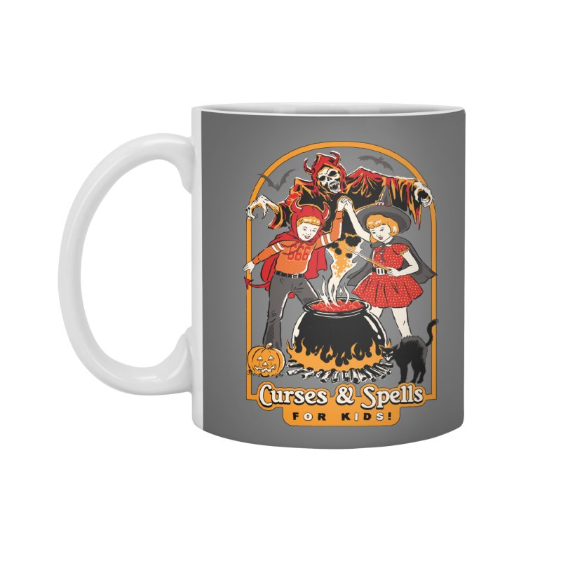 Curses & Spells Accessories Mug by Steven Rhodes