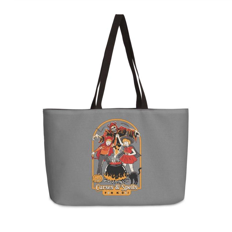 Curses & Spells Accessories Bag by Steven Rhodes