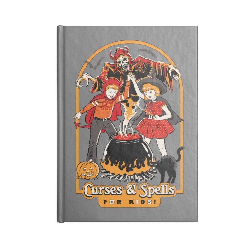 Curses & Spells Accessories Notebook by Steven Rhodes