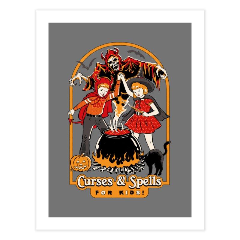 Curses & Spells Home Fine Art Print by Steven Rhodes