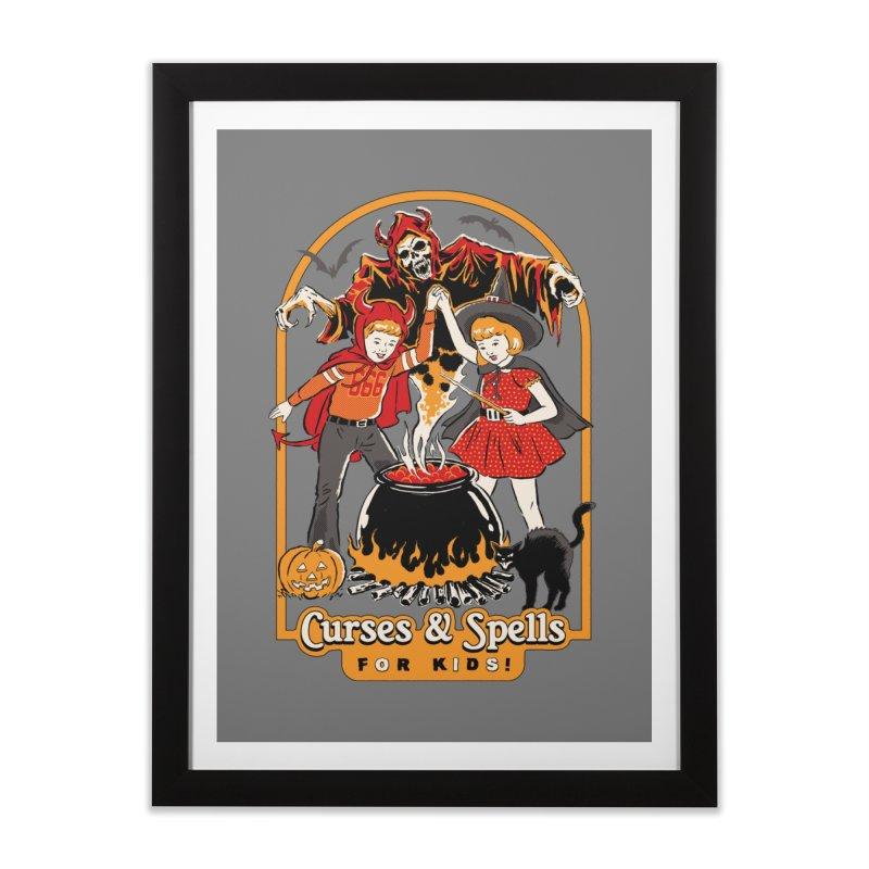 Curses & Spells Home Framed Fine Art Print by Steven Rhodes