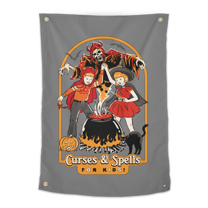 Curses & Spells Home Tapestry by Steven Rhodes