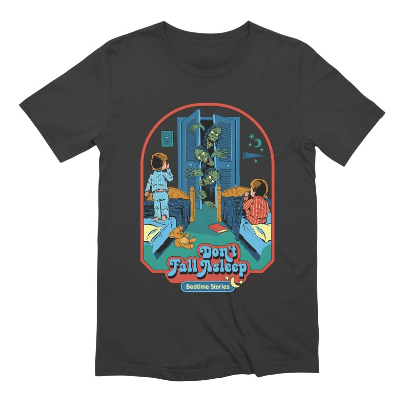 Don't Fall Asleep Men's Extra Soft T-Shirt by Steven Rhodes
