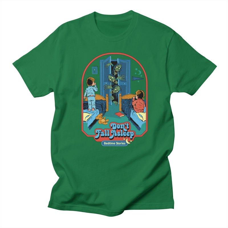 Don't Fall Asleep Men's T-Shirt by Steven Rhodes