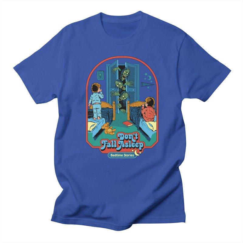 Don't Fall Asleep Women's Regular Unisex T-Shirt by Steven Rhodes