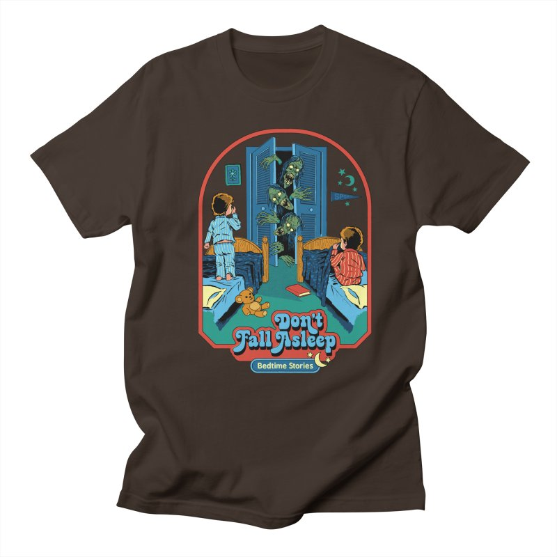 Don't Fall Asleep Men's Regular T-Shirt by Steven Rhodes