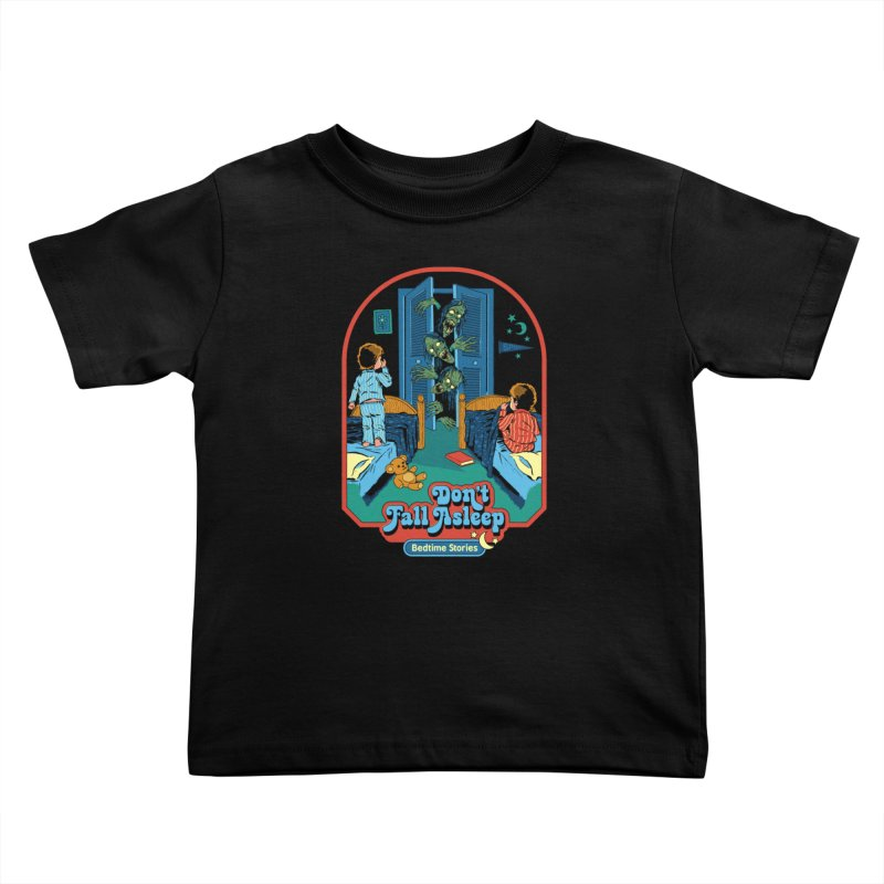 Don't Fall Asleep Kids Toddler T-Shirt by Steven Rhodes