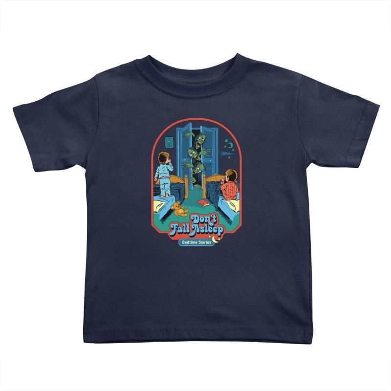 Don't Fall Asleep Kids Toddler T-Shirt by Steven Rhodes