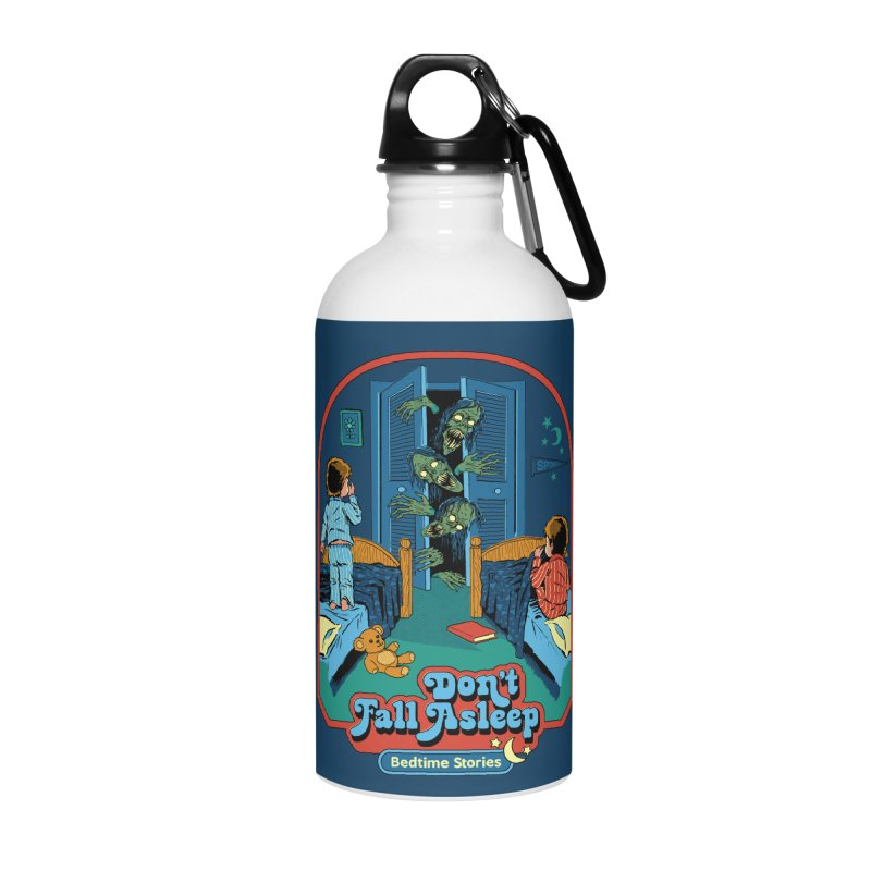 Don't Fall Asleep Accessories Water Bottle by Steven Rhodes