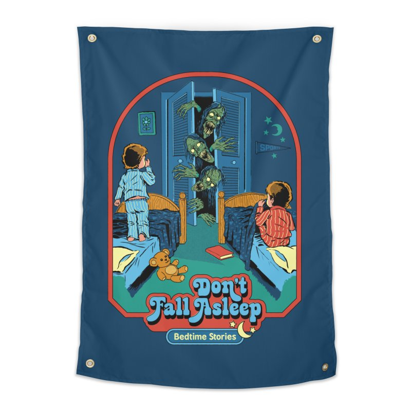 Don't Fall Asleep Home Tapestry by Steven Rhodes