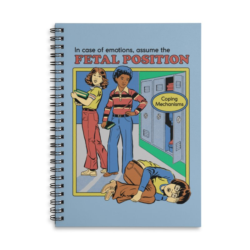 Assume the Fetal Position Accessories Notebook by Steven Rhodes