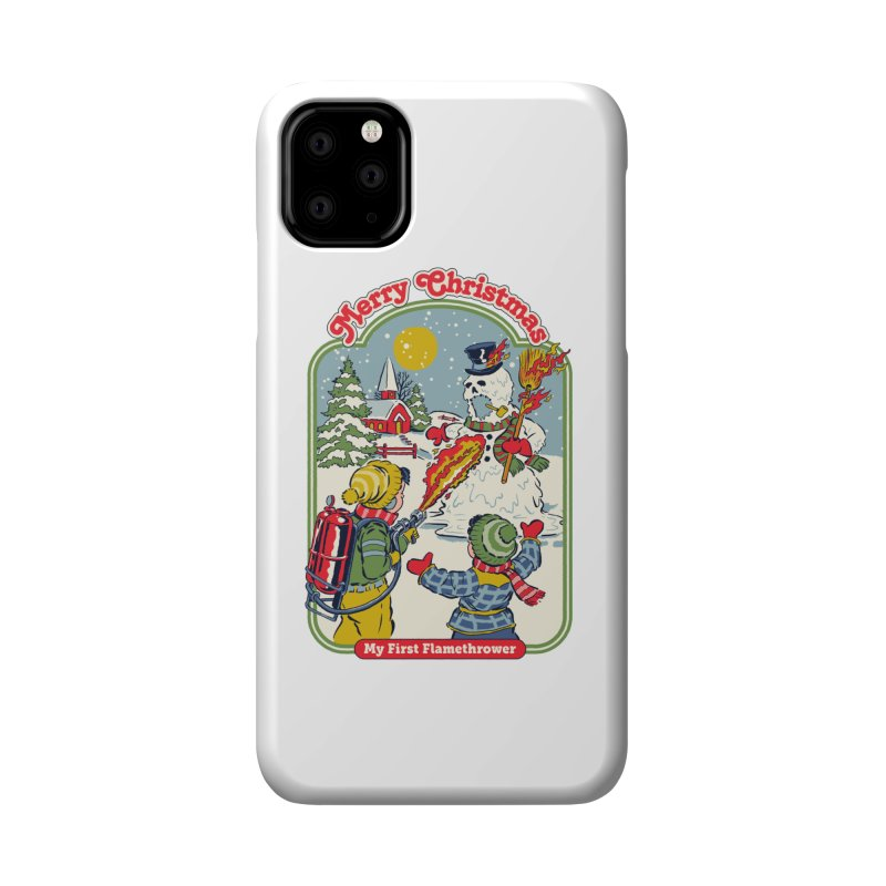 My First Flamethrower Accessories Phone Case by Steven Rhodes