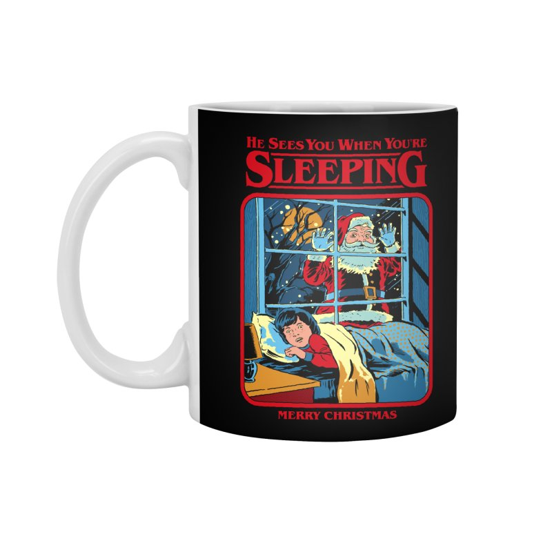 He Sees You When You're Sleeping Accessories Standard Mug by Steven Rhodes