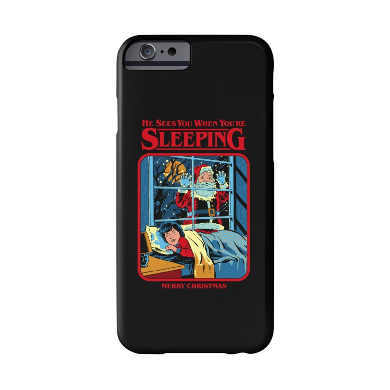 He Sees You When You're Sleeping Accessories Phone Case by Steven Rhodes