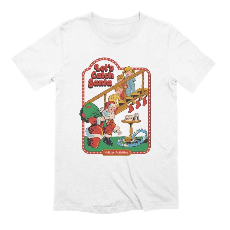 Let's Catch Santa Men's T-Shirt by Steven Rhodes