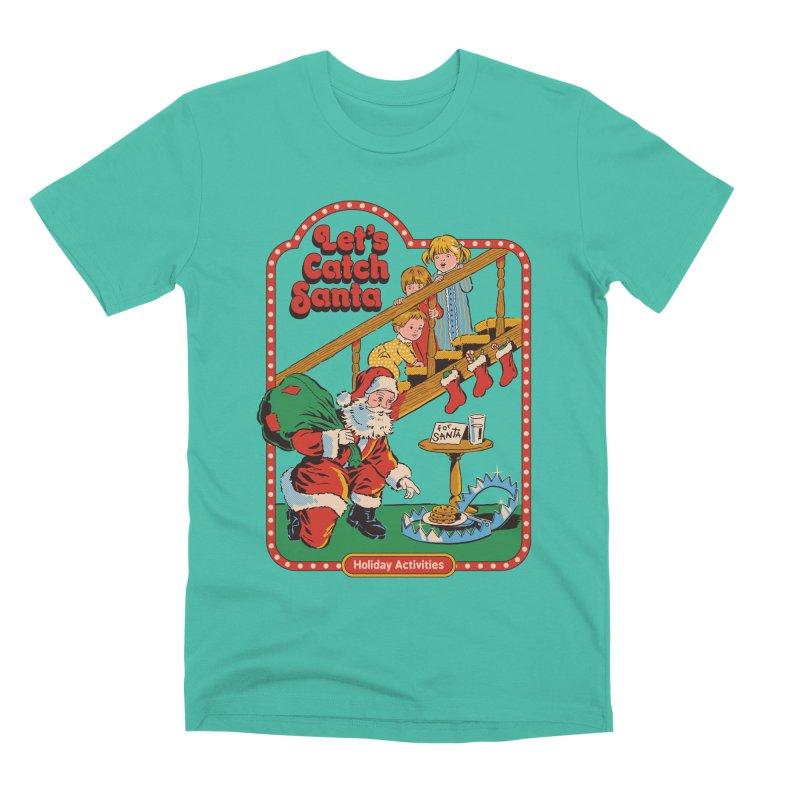 Let's Catch Santa Men's Premium T-Shirt by Steven Rhodes
