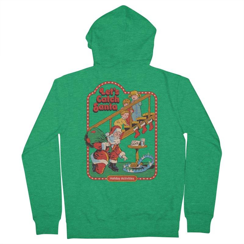 Let's Catch Santa Women's Zip-Up Hoody by Steven Rhodes