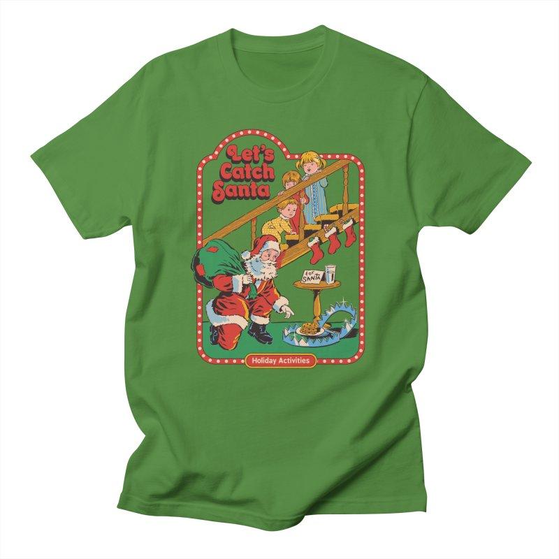 Let's Catch Santa Women's Regular Unisex T-Shirt by Steven Rhodes