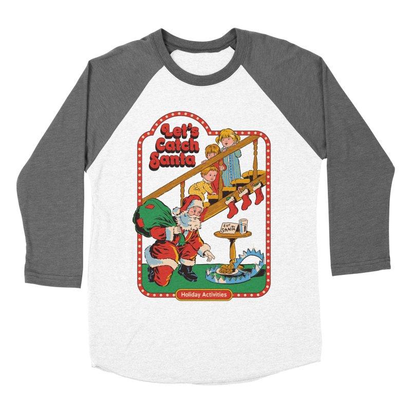 Let's Catch Santa Women's Longsleeve T-Shirt by Steven Rhodes