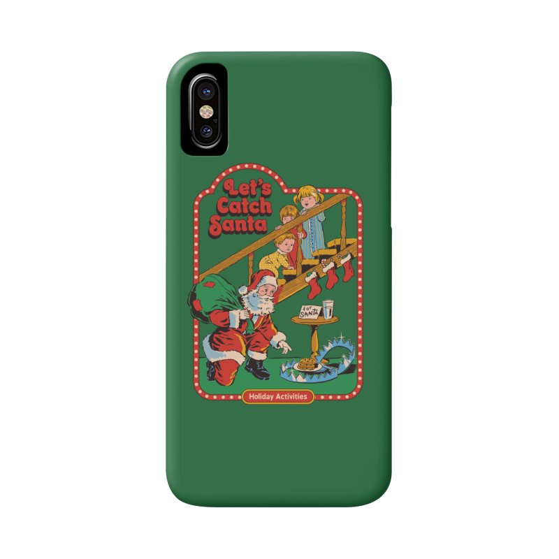 Let's Catch Santa Accessories Phone Case by Steven Rhodes