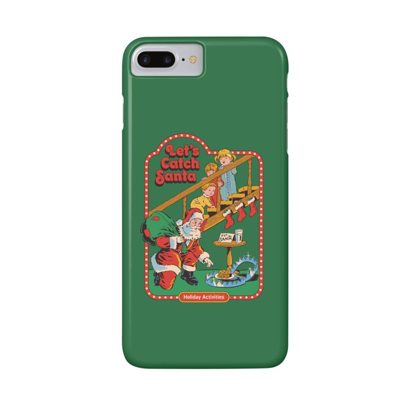 Let's Catch Santa Accessories Phone Case by Steven Rhodes