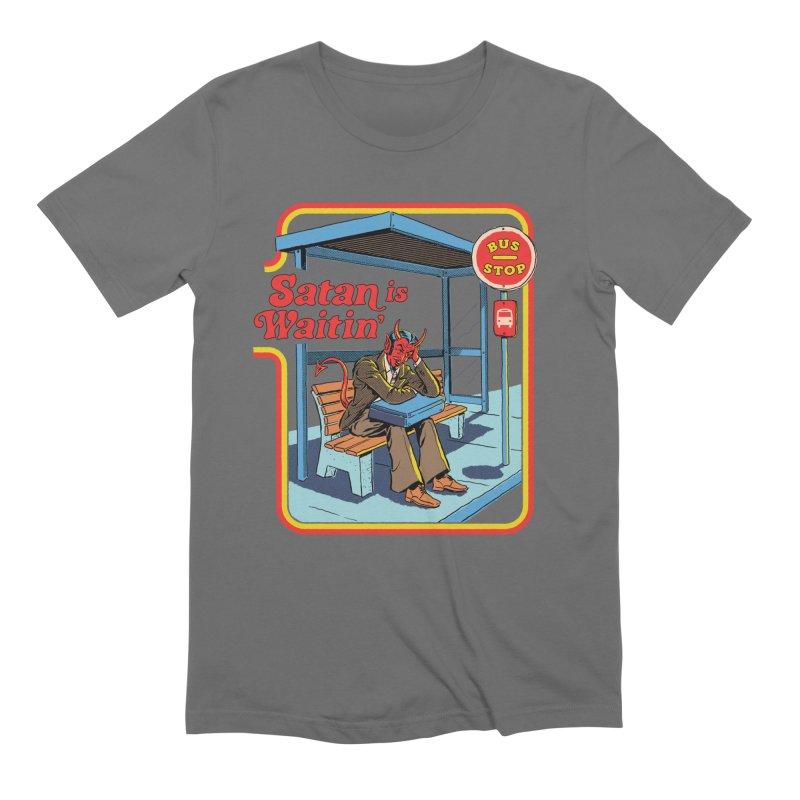 Satan is Waitin' Men's T-Shirt by Steven Rhodes