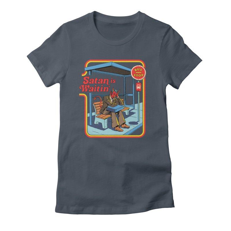 Satan is Waitin' Women's T-Shirt by Steven Rhodes