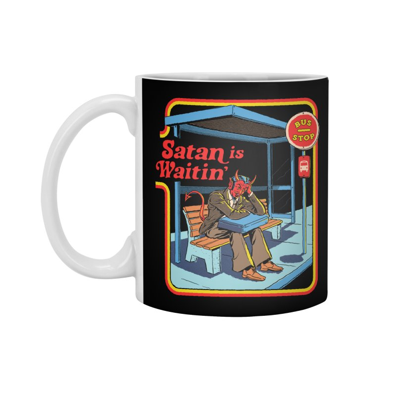Satan is Waitin' Accessories Mug by Steven Rhodes
