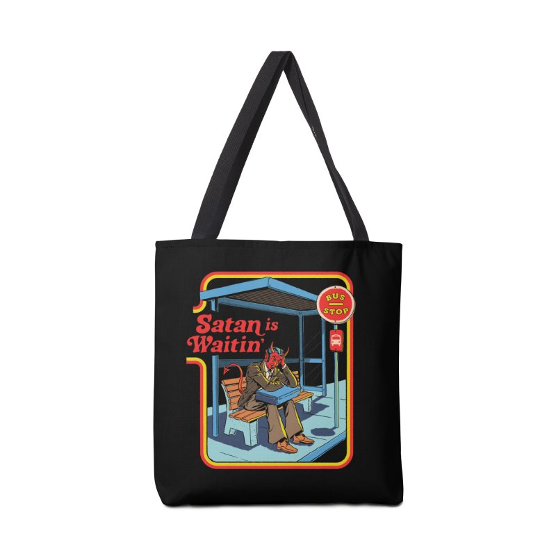 Satan is Waitin' Accessories Bag by Steven Rhodes