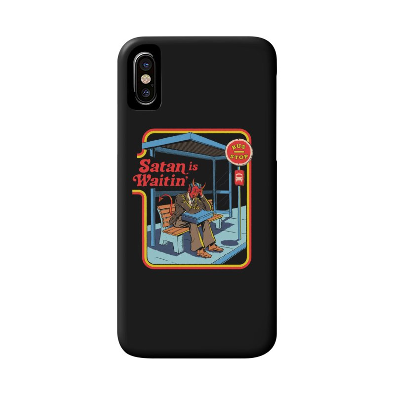 Satan is Waitin' Accessories Phone Case by Steven Rhodes