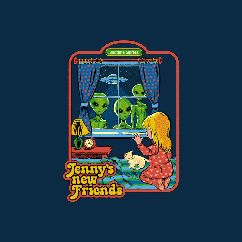 Jenny's New Friends Kids T-Shirt by Steven Rhodes