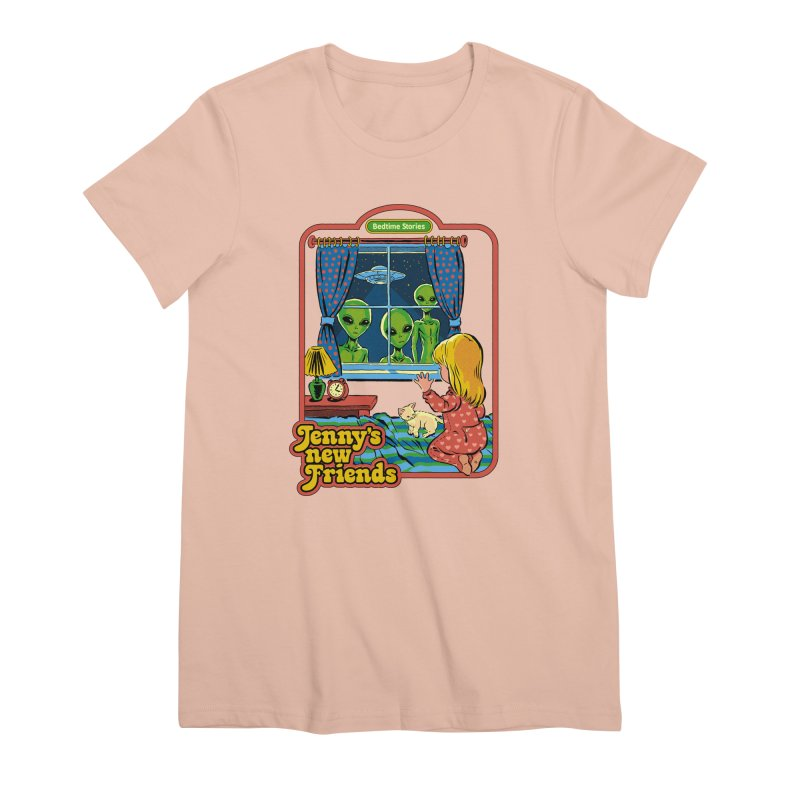 Jenny's New Friends Women's Premium T-Shirt by Steven Rhodes