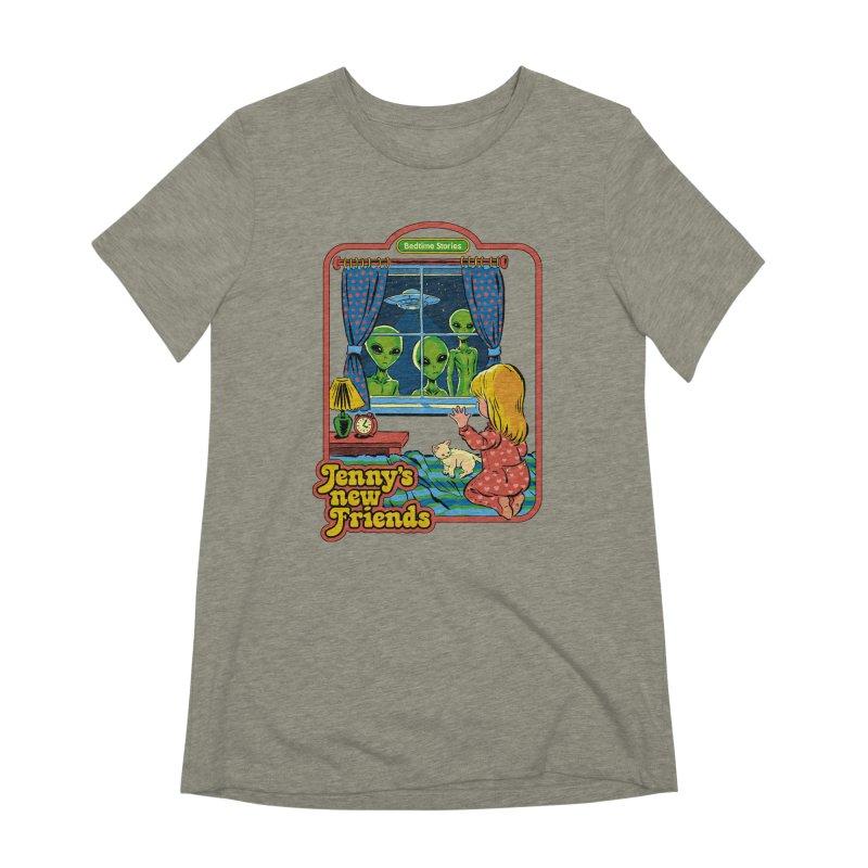 Jenny's New Friends Women's Extra Soft T-Shirt by Steven Rhodes