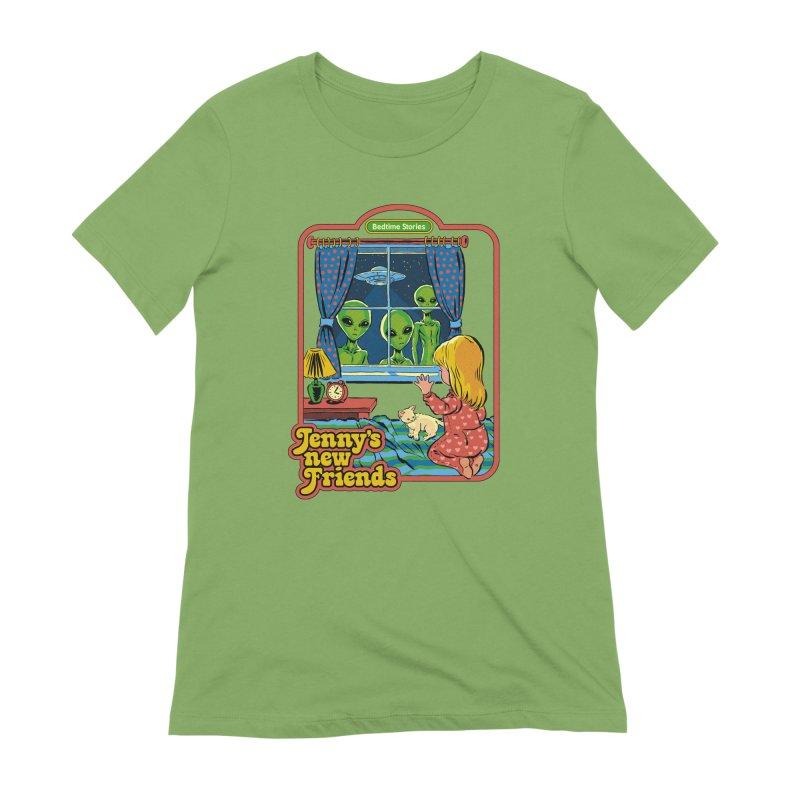 Jenny's New Friends Women's T-Shirt by Steven Rhodes