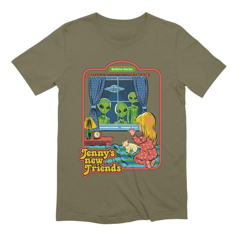 Jenny's New Friends Men's T-Shirt by Steven Rhodes