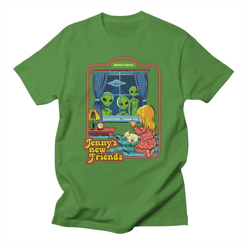 Jenny's New Friends Men's Regular T-Shirt by Steven Rhodes
