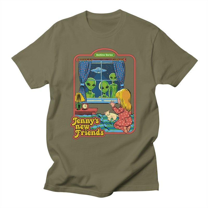 Jenny's New Friends Women's Regular Unisex T-Shirt by Steven Rhodes