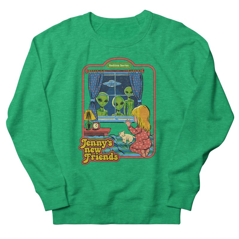 Jenny's New Friends Women's Sweatshirt by Steven Rhodes